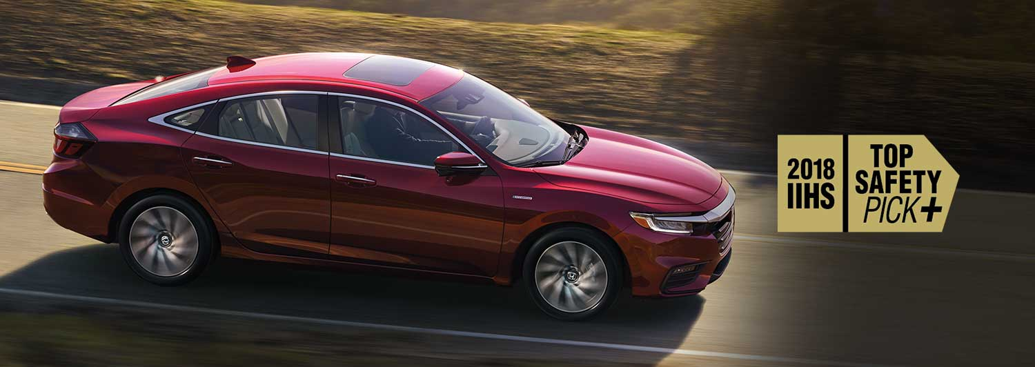 The 2019 Honda Insight is a Top Safety Pick+