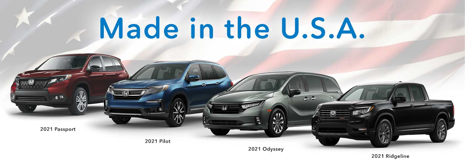 Honda Has Most American-Made Vehicles in 2021